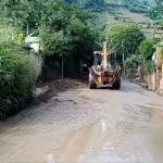 Municipalidad realizó trabajos de limpieza en carretera circunvalación al Lago de Amatitlán