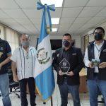 INGUAT y del Ministerio de Cultura y Deportes hacen entrega de  pabellón conmemorativo al Bicentenario